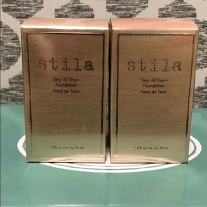 NEW Stila Stay All Day Foundation Biege 2 boxes